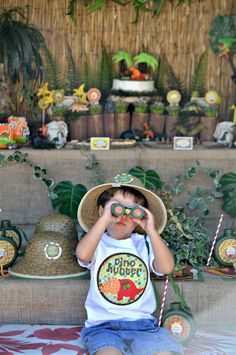 Dinosaurs Birthday Party Ideas | Photo 1 of 32 | Catch My Party
