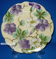 antique_art_nouveau_porcelain_plate_p_h_leonard_vienna_austria_hp_floral_signed_1_lgw.jpg 1,520×1,600 pixels