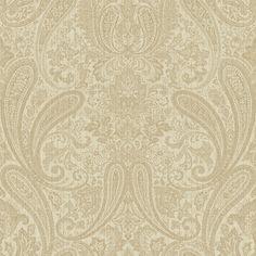 """Gentlemen's Quarters Ludlow 33' x 20.5"""" Paisley Wallpaper"""