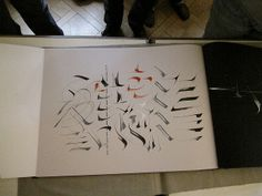 Gottfried Pott Calligraphy Artist, Modern Calligraphy, Decorated Envelopes, Letter Art, Visual Communication, Flourish, Hand Lettering, Typography, Journals