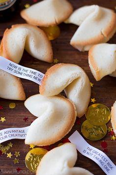 Homemade Fortune Cookie recipe