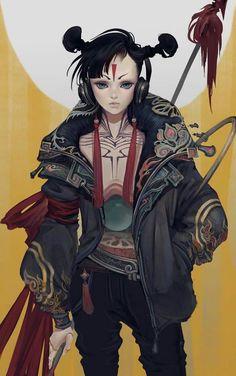 [ Jade Sphere ]  Illustration by RC Yang (www.artstation.com/artist/rcyang)