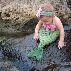 Baby Mermaid...so cute!
