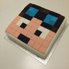 My Minecraft loving boys would love this Dan TDM cake! Minecraft Birthday Cake, Minecraft Cake, Minecraft Party, Dan Tdm Cake, 8th Birthday, Birthday Ideas, Birthday Cakes, Violet Cakes, Cakes For Boys
