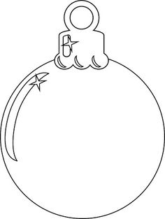 Christmas Ornament | Add your own colours! Feel free to prin… | Flickr Christmas Present Template, Christmas Present Coloring Pages, Christmas Coloring Sheets, Fabric Christmas Ornaments, Painted Ornaments, Christmas Colors, Snowflake Template, Ornament Template, Adult Coloring