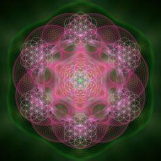 Sacred mandala , sacred geometry