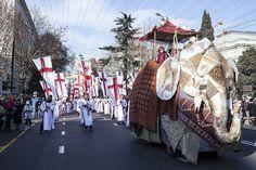 Alilo: Georgian folk and Christmas tradition Christmas Traditions, Georgian, Folk, Christian, Urban, Traditional, Heart, Georgian Language, Popular