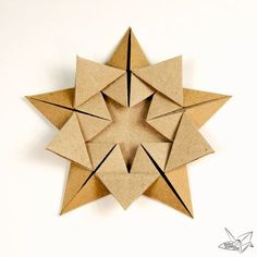 A tutorial teaching how to make an origami star designed by Ali Bahmani. This wonderful origami star is made from 1 sheet of pentagonal paper.