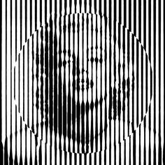 Marilyn Monroe, black and white pop art.
