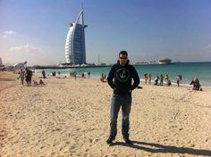 Ispred poznatog hotela Burj Al Arab