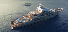 ANDROMEDA is a luxury expedition mega yacht built in refitted in 2017 by Kleven. View similar yachts for Charter around the world. Super Yachts, Big Yachts, Yacht Design, Boat Design, Explorer Yacht, Yacht Interior, Yacht Boat, Power Boats, Speed Boats