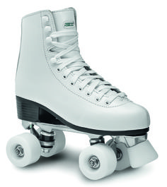 ROLLER SKATES - ARTISTIC  WHITE RC2 Upper: ECOleather  Sole: PVC  Footbed: anatomical Closure: flat laces Frame: aluminium alloy Truck: aluminium alloy Stopper: PU  Wheels: PU 54x32mm/85A Bearings: ABEC 5 Availabla now at shop.roces.com