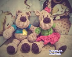 Amigurumi Bear couple