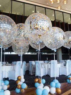 Christening/Baptism Balloons #Christening #Baptism #Blue #Gold #Balloons #Bespoke #Bespokeballoons #Customisedballoons #Personalisedballoons #Balloonclusters #Blueballoons #Lux #Elegant #Classy #Jumboballoon #Centretablepieces #Tablepieces #Bigballoons #Giantballoons #Christeningideas #Baptismideas #Babyboy #Boy #Babyboybirthday #Adelaideballoons #Balloonsadelaide #PuffandPop