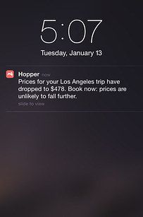 You'll get your lowest airfares ever thanks to Hopper's finely tuned price-prediction feature.   27 Free Apps That Will Save You So Much Money