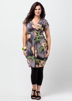 Big Sizes Womens Clothing | Clothes for Larger Size Women - PREMIERE MESH DRESS - TS14