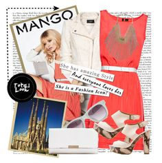 """""""Fashion in Motion with MANGO & Kate Moss"""" by karineminzonwilson ❤ liked on Polyvore featuring MANGO and Forum"""