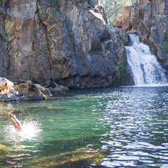 Upper Falls - McCloud River