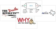 Slidedecks Slides are our visual storytelling comrades. Start a Doodle Revolution at your company or school by giving a short presentation on doodling, visual notetaking or gamestorming using these slides and accompanying scripts. Speak up for the Doodle, soldiers. It's time we give the Doodle its DO!