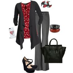 working on valentines day - Polyvore