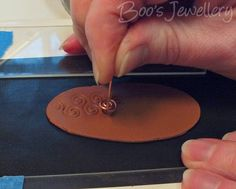 Boo's Jewellery: Bringing copper clay to life - 2015 jewelry, handmade gemstone jewelry, online shopping jewellery earrings *ad Polymer Clay Tools, Sculpey Clay, Polymer Clay Projects, Diy Clay, Clay Crafts, Polymer Clay Jewelry, Terracotta Jewellery Designs, Do It Yourself Jewelry, Fondant