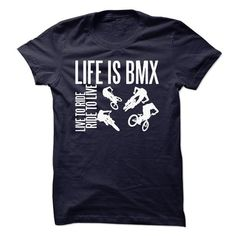 Awesome Tee LIFE IS BMX T-Shirt