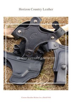 Custom Shoulder Holster for a Shield 9/40. Special request for a single mag pouch.
