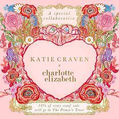 Katie Craven (@katiecravenuk) • Instagram photos and videos Scarf Design, Silk Scarves, Fashion Brand, Photo And Video, Videos, Photos, Cards, Instagram, Decor