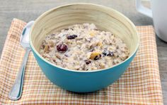 Bircher Muesli for breakfast
