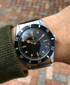 """519 Likes, 41 Comments - Jonathan Wong (@jwlife37) on Instagram: """"Another added piece to the collection, all original early rare Rolex Submariner Ref. 6205"""""""