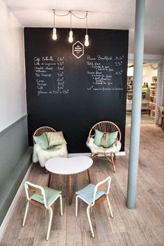 Home Decoration Living Room Info: 1428748955 Cupcake Shop Interior, Bakery Shop Interior, Cafe Interior Design, Cafe Design, Store Design, Interior Decorating, Bakery Decor, Bakery Design, Bakery Cafe