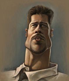 Brad Pitt by infernovball on deviantART