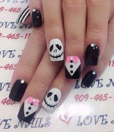 05 nail designs for summer nail designs for short nails step by step kiss nail stickers nail art stickers at home essie nail stickers Fancy Nails, Pink Nails, My Nails, Halloween Nail Designs, Halloween Nail Art, Halloween Ideas, Short Nail Designs, Nail Art Designs, Zombie Nails