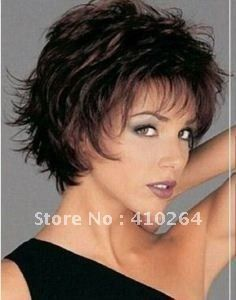15 dol  $wholesale_jewelry_wig$ free shipping Hot Fashion Women's Light Brown Hair Short  Wig/Wigs