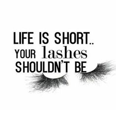 Because #lashes are life. So put that #mascara or glue that extension queens. Slay this weekend. #makeupquotes http://ift.tt/2fzO43F #lashesquotes