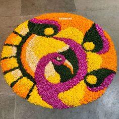 Rangoli Designs Latest, Simple Rangoli Designs Images, Rangoli Designs Flower, Rangoli Border Designs, Colorful Rangoli Designs, Rangoli Designs Diwali, Beautiful Rangoli Designs, Diya Rangoli, Rangoli Ideas