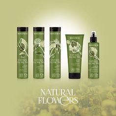100 % organisch. Sogar die Flasche lässt sich kompostieren.  http://www.clickandcare.ch/haarpflege/natural-flowers