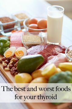 Best Diet for Hypothyroidism, Hashimoto's, Hyperthyroidism, or Graves (Foods to Eat and Foods to Avoid) Thyroid Diet, Pcos Diet, Thyroid Disease, Thyroid Foods To Avoid, Thyroid Issues, Diet Foods, Healthy Foods, Healthy Life, Hyperthyroidism Diet