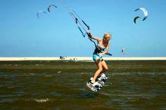 #kiteboarding #girlscanride