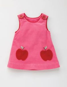 Mini Boden Candy Apple Fun Pocket Pinafore