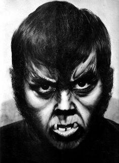 Such an awesome werewolf makeup.