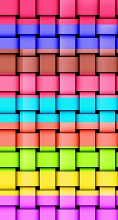 Basket Phone Screen Wallpaper, Iphone Wallpaper, Wallpaper Pictures, Wallpaper Backgrounds, Colorful Wallpaper, Color Of Life, Puzzle Pieces, Color Pallets, Pantone Color