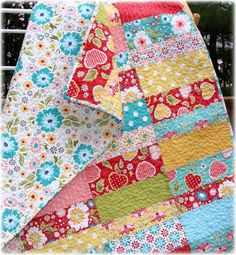 beginner quilting projects | Quilting Ideas | Project on Craftsy: Apple Cobbler Baby Quilt