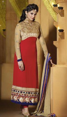 online Salwar Kameez Pakistani Suits - 9046