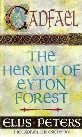 The Hermit of Eyton Forest (Chronicles of Brother Cadfael #14) by Ellis Peters  Read the entire series. Fast short reads but very entertaining.