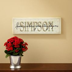Home Is Where Your Story Begins Canvases