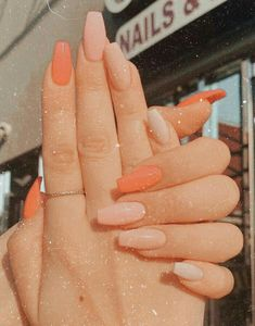 Classy Acrylic Nails, Acrylic Nails Coffin Short, Square Acrylic Nails, Summer Acrylic Nails, Coffin Nails, Summer Nails, Nagellack Design, Nagellack Trends, Aycrlic Nails