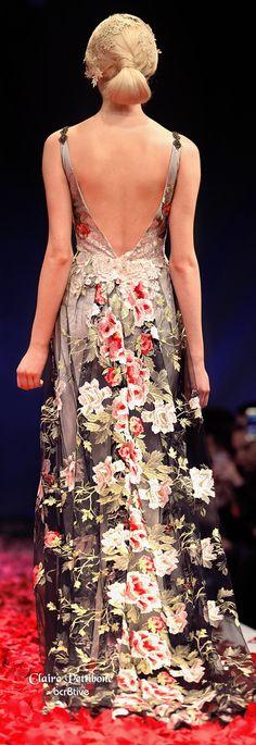 Claire Pettibone 'Raven' wedding dress http://www.clairepettibone.com/raven. #wedding #bridal #dress