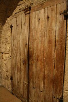 Door in St Germain des pres, Paris - built in the 1100s