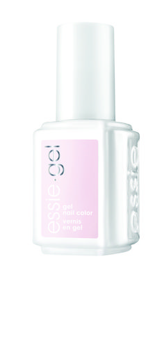 essie 'peak show,' a scenic powdery pink worth the climb for a pretty manicure.